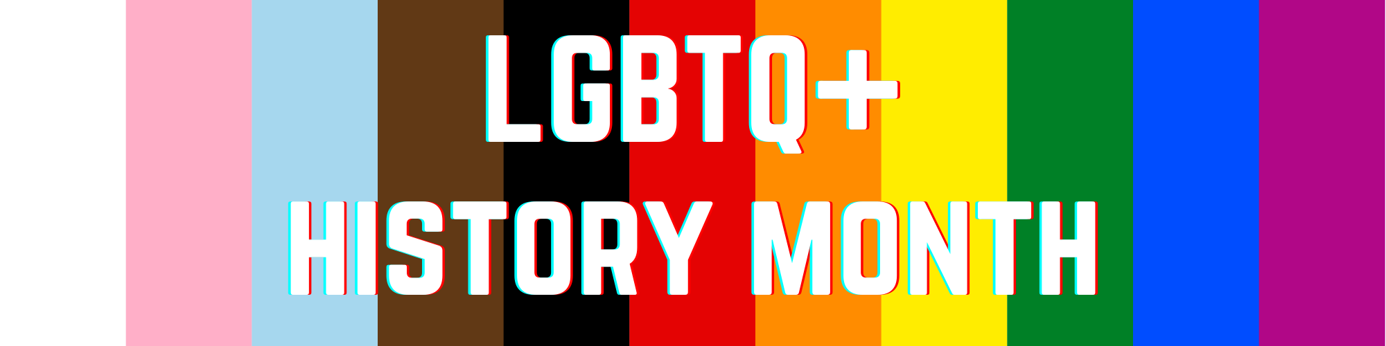 Celebrate LGBTQ+ history month with your Students' Union