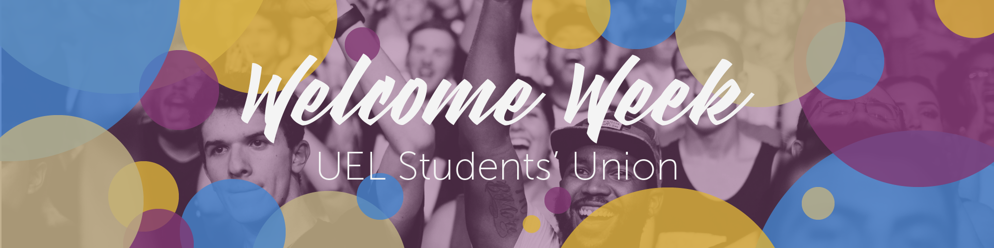 Welcome Week - UEL Students' Union